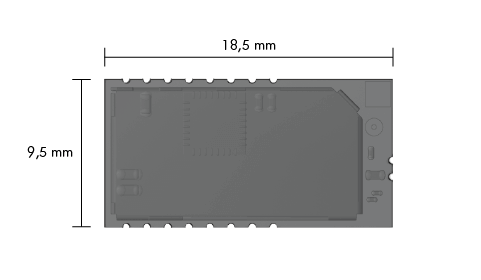 Schematic drawing Embedded IO-Link Wireless Device Module